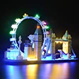 BRIKSMAX Led Lighting Kit for Architecture London Skyline Set-Compatible with Lego 21034 - Not Include The Lego Set