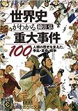世界史がわかる重大事件100 ――人類の歴史を変えた、争乱・革命・戦争 (知的生きかた文庫)