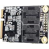 軽量 内蔵mSATAソリッドステートドライブ ミニSATA SSDディスク 1.8インチ パソコン用 全3容量 - 128GB