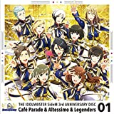 THE IDOLM@STER SideM 3rd ANNIVERSARY DISC 01(Reversed Masquerade/Tone's Destiny/Symphonic Brave)