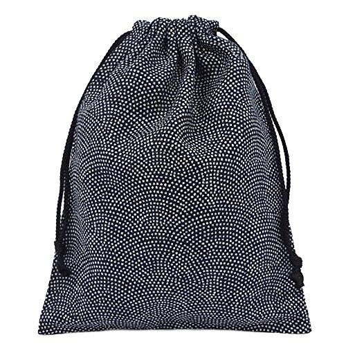 巾着袋 小 和柄 鮫小紋 ハンドメイド 日本製...