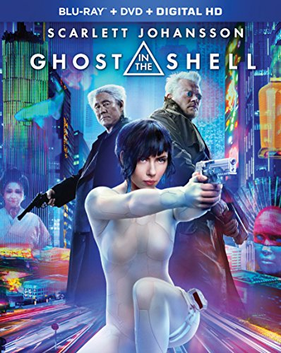 GHOST IN THE SHELL BLU-RAY + DVD + DIGITAL HD