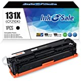 INK E-SALE Remanufactured Toner Cartridge Replacement for HP 131A CF210A 131X CF210X (Black, 1-Pack), for use with HP MFP M27