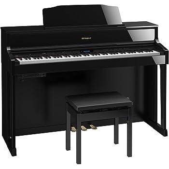 ROLAND HP605 PES (黒塗鏡面艶出し塗装仕上げ) 電子ピアノ (ローランド)