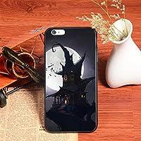 iPhone 8/7 / 6s / 6ケース用電話ケース(4.7インチ)ホリデーデザインケース(クラシックハロウィーン)ゴーストカボチャデビルキャッスルスケルトンファッショナブル (Style : Castle)