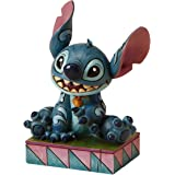 Disney Traditions Stitch Ohana Means Family Figurine