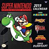 Super Nintendo Entertainment System 2019 Calendar: Retro Art from the Original Super Nes