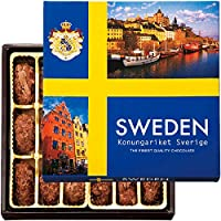 北欧 土産 スウェーデンフレークトリュフチョコレート 1箱 (海外旅行 北欧 お土産)