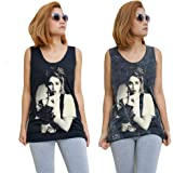DESIGNS_101 Unisex Madonna Tank Top Vest Singlet Sleeveless T-Shirt Mens Womens Ladies Unisex