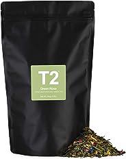 T2 Tea Green Rose Loose Leaf Green Tea in Resealable Foil Refill 250 g, 1 x 250 g