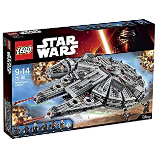 レゴ (LEGO) スター・ウォーズ ミレニアム・ファルコン[TM] 75105 (B00SDTTH5E) | Amazon price tracker / tracking, Amazon price history charts, Amazon price watches, Amazon price drop alerts