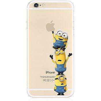 b5abbf5072 G・Watanabe 怪盗グルー ミニオンズ iphone8 ケース TPUクリアソフトケース (iphone8, 2)