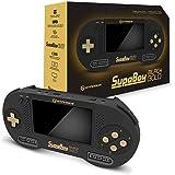 HYPERKIN SUPABOY Black Gold Special Edition ハイパキン スパボーイ ブラック ゴールド スペシャルエディション スーパーファミコン SNES NTSC PAL 対応 ポータブル互換機 ハイパーキン WELL