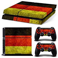 Linyuan 安定した品質 0202* Skin Sticker Vinyl Decal Cover for PlayStation 4 PS4 Console+Controllers