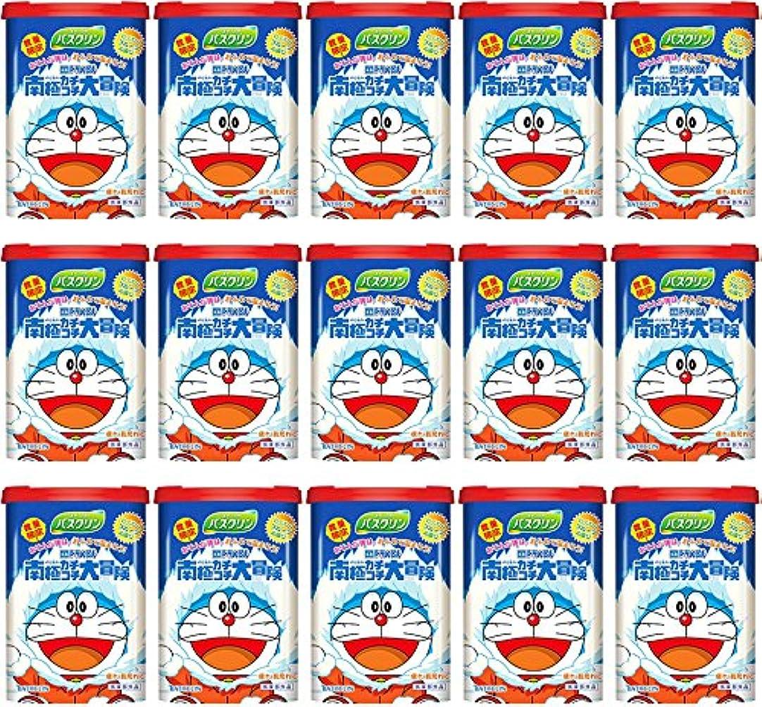 偶然発明揮発性【ケース販売】 バスクリン ドラえもん わくわくフルーツの香り 600g ×15個