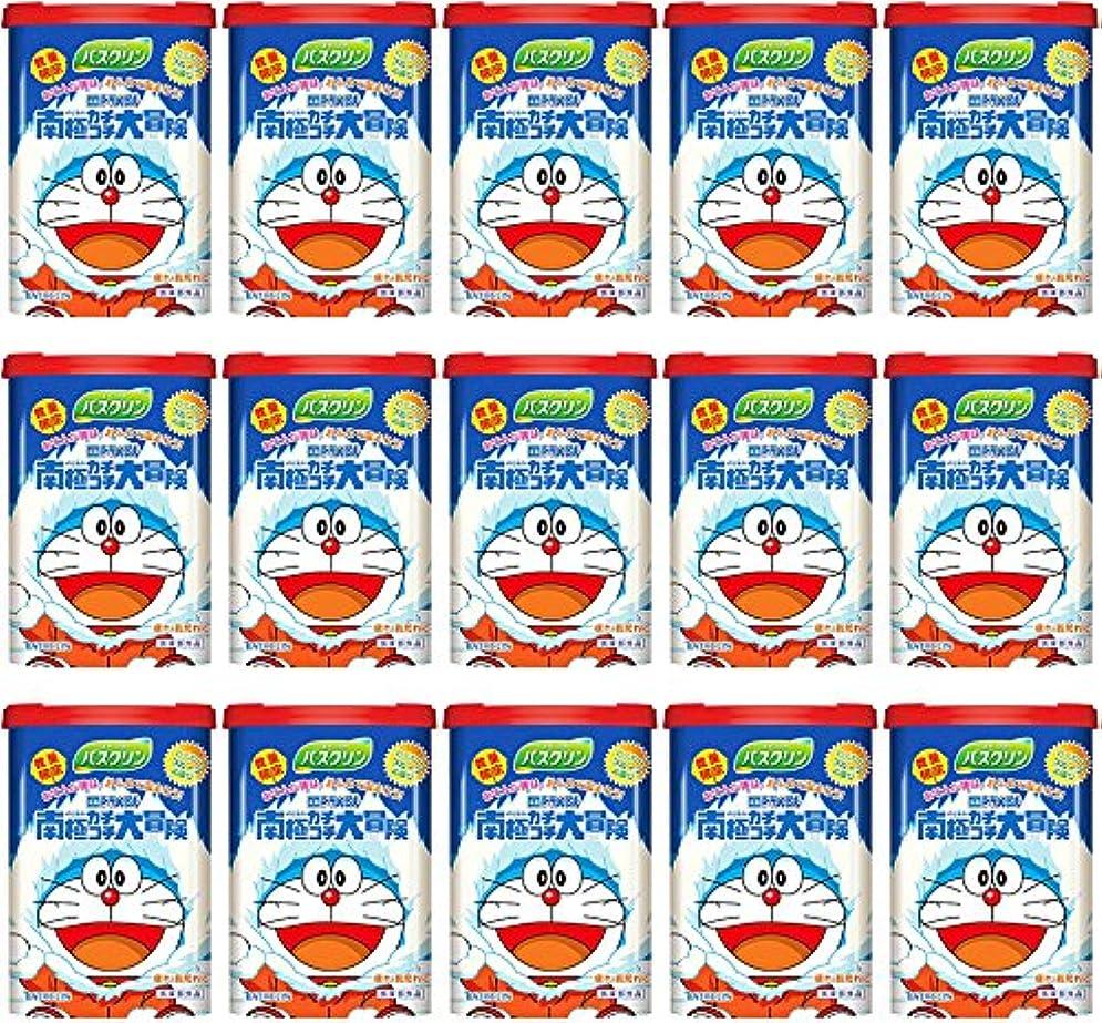 子供達症候群予見する【ケース販売】 バスクリン ドラえもん わくわくフルーツの香り 600g ×15個
