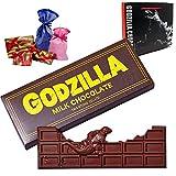 [ラッピングバッグ付き] ゴジラが壊した板チョコ チョコレート シン・ゴジラ ショップバッグ付き