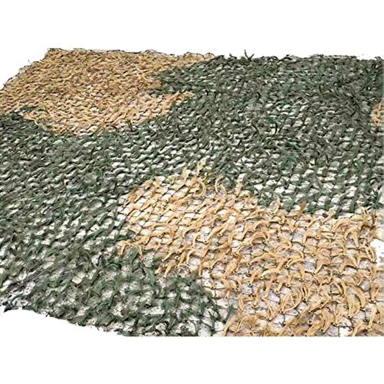 辛な雪変なXIAOLIN 迷彩マツ針迷彩ネット屋外シェードネット装飾草シミュレーション用トレーニング (色 : A, サイズ さいず : 4X4m)
