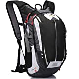Cycling Backpack, 18L Waterproof Breathable and Lightweight Running Backpack Bike Backpack Bag Pack Outdoor Sports Riding Tra