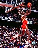 Dominique Wilkins Atlanta Hawks NBAアクション写真(サイズ: 8
