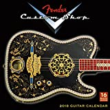 Fender Custom Shop Guitars 2018 Calendar