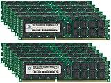Adamanta 192GB (12x16GB) サーバーメモリアップグレード HP Proliant DL165 G7 DDR3 1066Mhz PC3-8500 ECC 登録済み 4Rx4 CL7 1.5v