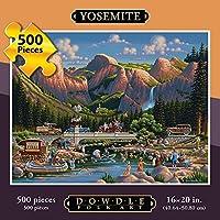 ドードル・フォーク・アート ジグソーパズル ヨセミテ国立公園 500ピース
