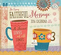 Legacy Publishing Group 2016 Wall Calendar Faithful Message (WCA18918) [並行輸入品]
