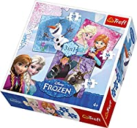 Trefl 3 - in - 1 Disney Frozen Heroesパズル( 106ピース)