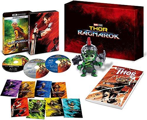 マイティ・ソー バトルロイヤル 4K UHD MovieNEXプレミアムBOX(数量限定) [4K ULTRA HD + 3D + Blu-ray + デジタルコピー(クラウド対応)+MovieNEXワールド]
