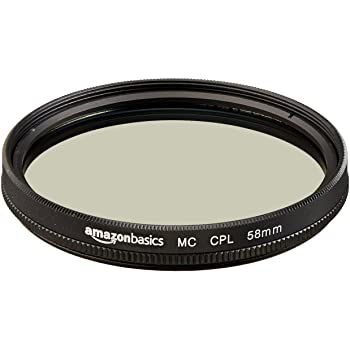 Amazonベーシック 円偏光フィルター 58mm CF02-NMC16-58