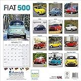Fiat 500 Calendar 2020 画像