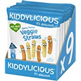 Kiddylicious Cheesy straws, 108g (Pack of 9)