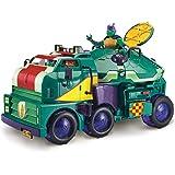 Teenage Mutant Ninja Turtles TUAB6000 The Rise Turtle Tank Playset, Multicolour