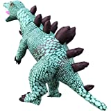 Arokibui Adult Dinosaur Inflatable Costume Funny Dino Blow up Costume for Halloween Cosplay Party Christmas Costume