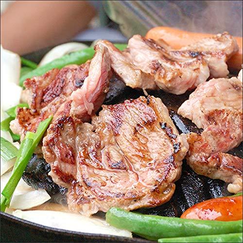 ジンギスカン 肉 ラム肉 ブロック 約360g×3P (肩ロース/冷凍) 業務用 羊肉 BBQ 北海道
