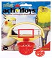 JW Pet Insight Birdie Basketball Bird Toy