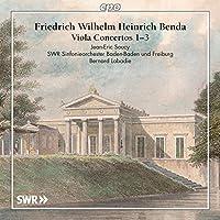 F.W.H.ベンダ:ヴィオラ協奏曲集