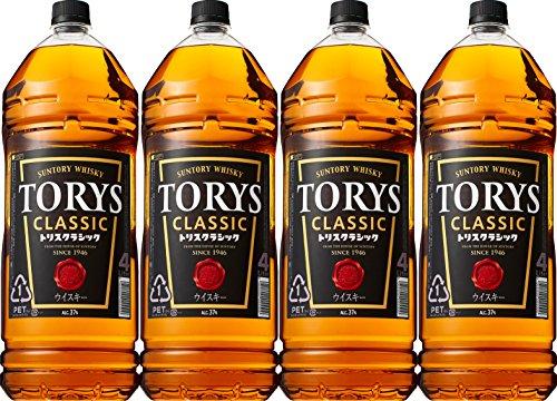 トリス クラシック 4000ml×4本 ペットボトル
