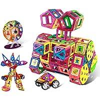 マグネット 磁石 磁気おもちゃ 138件 知育玩具 想像力と創造力を育てる 男の子 女の子 子供おもちゃ磁石ブロック キッズ 誕生日 クリスマス 新年 プレゼント DIY 積み木