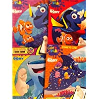 Finding Dory Disney Pixar Colouring Book 20cm x 28cm , 96 Pages Each (Pack of 4)