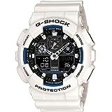 Gショック カシオ G-SHOCK CASIO メンズ 腕時計 アナデジ 海外モデル STANDARD GA-100B-7ADR ホワイト 逆輸入品 [並行輸入品]