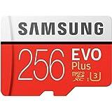 microSDXC 256GB EVO Plus UHS-I Class10 U3 4K対応 Samsung サムスン 専用SDアダプター付 [並行輸入品]