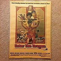 ミニポスター「燃えよドラゴン ブルースリー」
