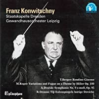DVORAK: SYMPHONY NO.9, ETC(2CD) by KONWITSCHNY & LEIPZIG GEWANDHAUS ORCHESTA (2010-05-26)