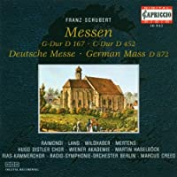 Schubert: Mass in G major; Mass in C major; German Mass (2006-01-01)