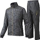 MIZUNO PRO ミズノプロ ブレスウインドブレーカーシャツ&ウインドブレーカーパンツ 12JE5W9009-12JF5W9009 /上下 Lサイズ ブラック