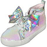 JoJo Siwa Girls Sequins High Top Sneakers (Little Kid/Big Kid)