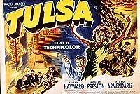 Tulsa映画ポスターまたはキャンバス 30 x 20