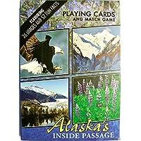 アラスカの内側Passageお土産Playing Cards